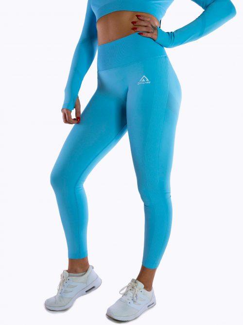 Maya blue seamless tights
