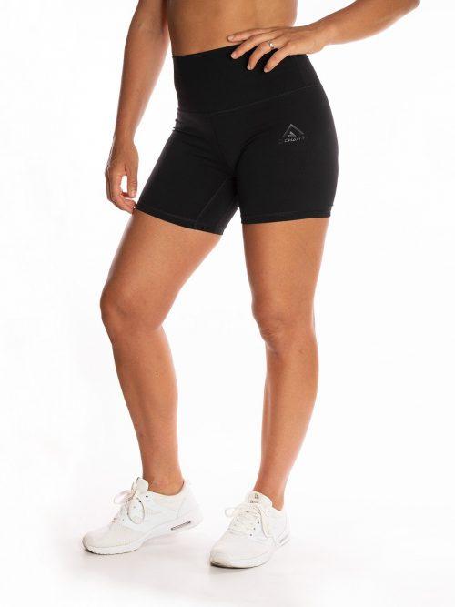 Korta Shorts Clean Black Loggo