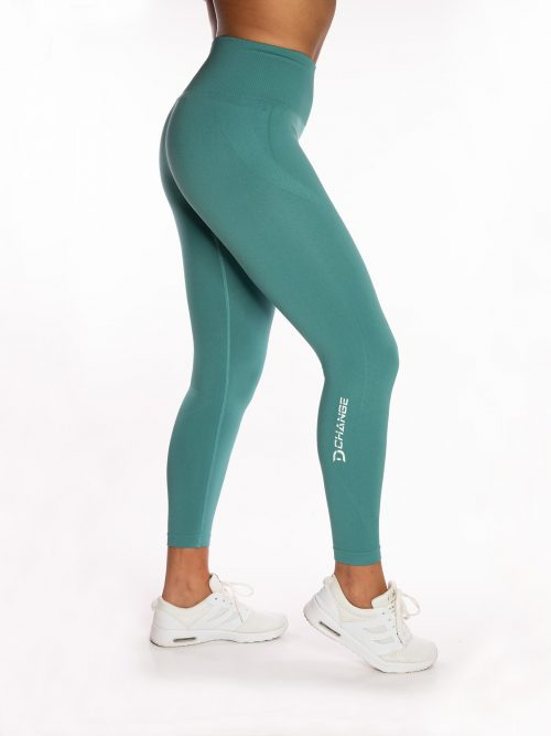 Turquoise Seamless Tights