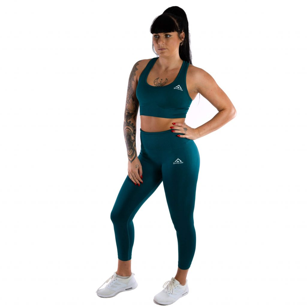 Pine green sport-bh medel support