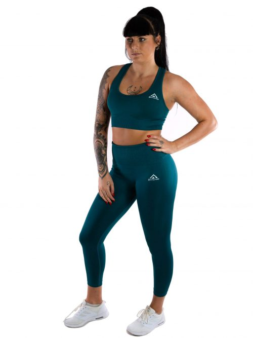 Pine green sport-bh medel support